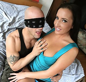 Hot Blindfold Porn Pictures