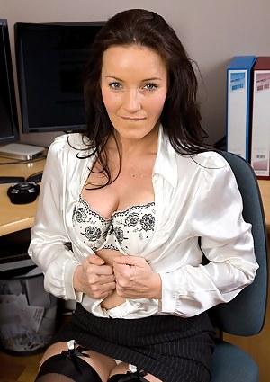 Hot Secretary Porn Pictures