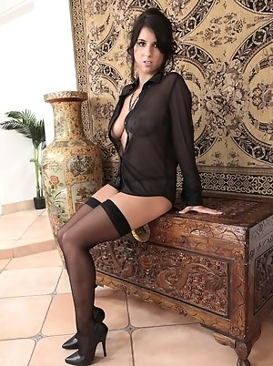 Hot Stockings Porn Pictures