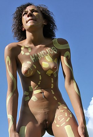 Hot Body Paint Porn Pictures