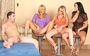 Hot Reverse Gangbang Porn Pictures